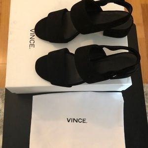 Vince Taye sandals in Black